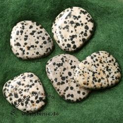 Dalmatian Jasper Saponite Chakra Stone 5 Pieces