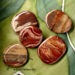 Rainbow Jasper Saponite Chakra Stone 5 Pieces