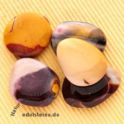 Mookait Chakrasteine A Qualität Mookait Flache Steine 5 Stück