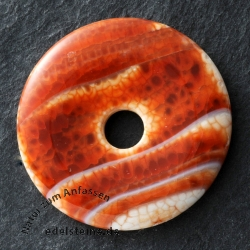 Fire Agate Donut S