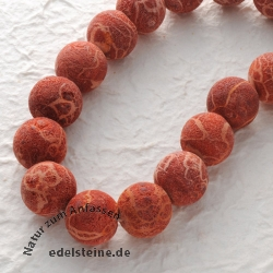Gemstone-Beads, Coral, bead raw 20 mm