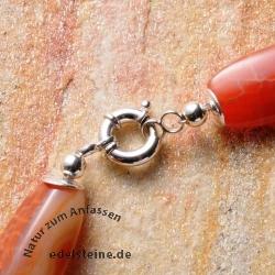 Silber-Verschluß, Spring-Ring 12 mm
