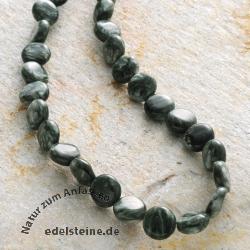 Edelstein-Perlen, Serafinit, Disc 5x10 mm