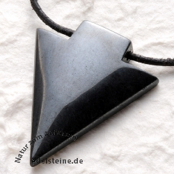 Hematite Pendant Arrow