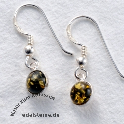 Amber Earrings 20G
