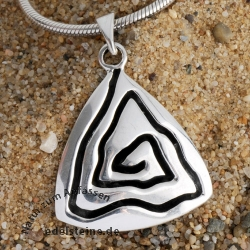 Silver Pendant Whirli 1