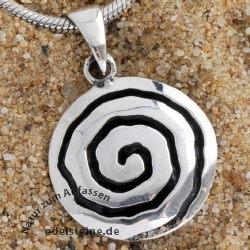 Silver Pendant Whirli 2