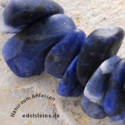 Edelstein-Perlen, Sodalith, Splitter Big