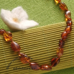 Amber necklace 45cm