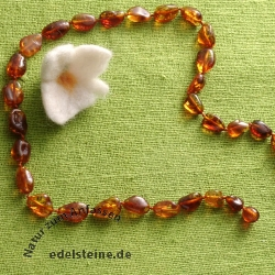 Amber necklace 56cm
