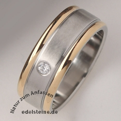 Stainless-Steel Ring Zirkonia ER745 25 pc