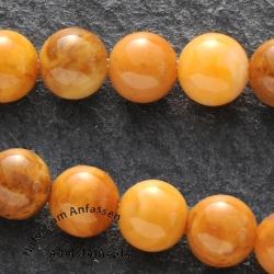 Ivory Jade Mini Perlen Kugel 4mm