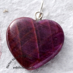 Ruby Pendant Heart