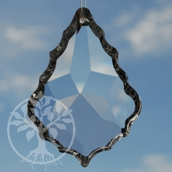Teardrop Feng Shui Crystal, 62x43 mm