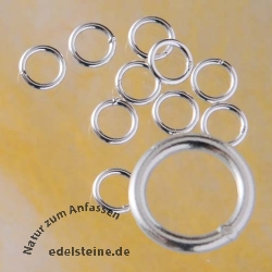 Jumpring 4*06mm closed Sterlingsilver