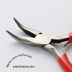 Bended Flat Nose Pliers 12 cm
