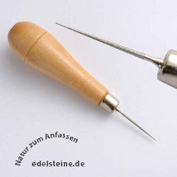Bead Reamer with Wooden Handle
