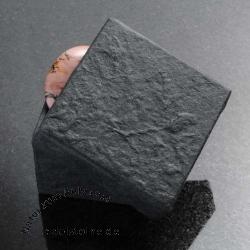 Box for Jewellery black 5,5 x 5,5 x 3,5 cm