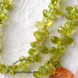 Peridote Necklace Drop