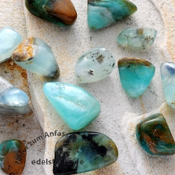 Opal Blue Tumbled Stones 50g