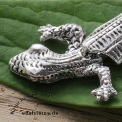 Pendant Gecko silver