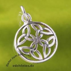 Silberknoten-Anhänger Keltisch