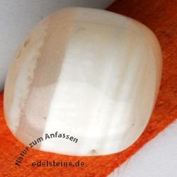 Weißer Achat Trommelsteine 100g