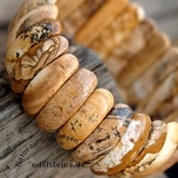 Landschafts-Jaspis Armband