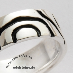 Silver Ring Oxi 7 mm