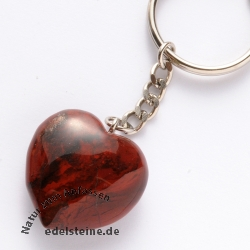 Keypendant in Red Jasper Keychain
