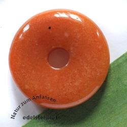 Aventurin rot Donut 30mm