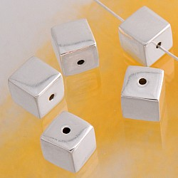 Silverbead Cube 8 mm