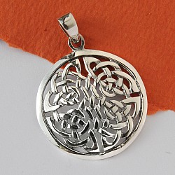 Celtic Sterling Silver Pendant