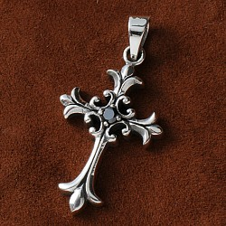Silber Kreuz Gotisch