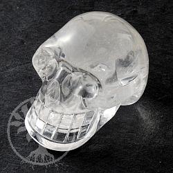 Kristallschädel Bergkristall BIG 70X50mm