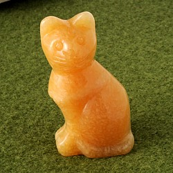 Cat orange calcite 75mm