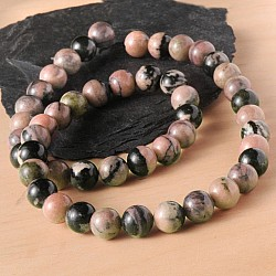 Gemstone Beads Rhodonite 4 mm