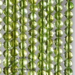Peridot Perlen 5mm