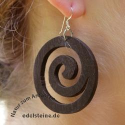 Ohrhaken Holzspirale