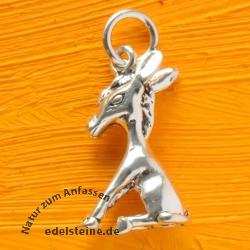 Donkey Silverpendant