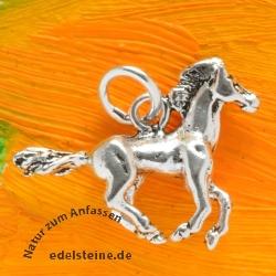 Pferde Silber Anhänger Silber 925