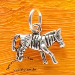 Zebra Anhänger Silber 925