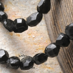Turmaline Black Gemstone Beads tumbled