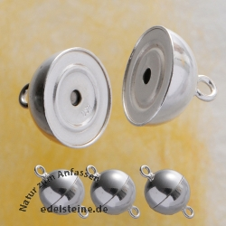 Magnetic-Clasp, Ball, 12 mm 3 pieces