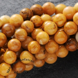 Ivory Jade Mini Perlen Kugel 3mm