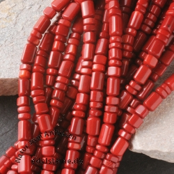 Red Coral Gemstone Beads small