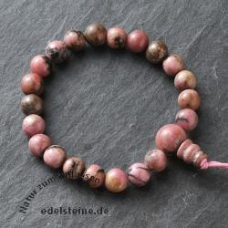 Rhodonite Buddha-Beads