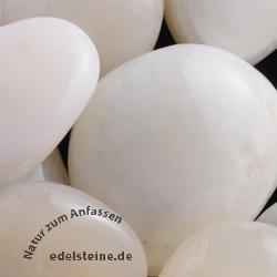 Weiße Achat Steine BIG XXL 1 kg