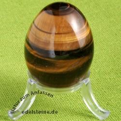 Tigerauge Stein Ei aus Tigerauge 45mm