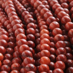 Coral Gemstone Beads 8 mm